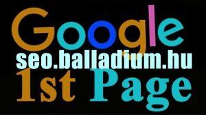 google első oldal - hely