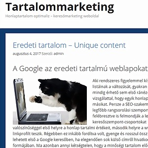 eredeti tartalom marketing